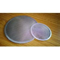 China SS316 Filter Element Filter Disc Wire Mesh Screen With Material Edge wholesale