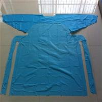 China Customized Hospital Disposable Medical Aprons With Sleeves Anti Dust / Blood on sale
