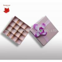 China Cardboard Chocolate Packaging Boxes For Wedding Gift Decorative on sale