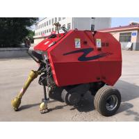 China Agriculture tractor mounted mini round rice straw baler machine for India market on sale