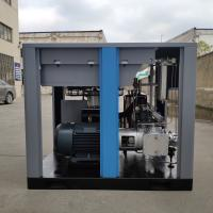 China 40bar high pressure oil free screw compressor oil free rotary screw air compressor on sale