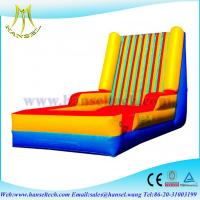 China Hansel hot sale inflatable velcro wall, Cheap inflatable bouncer stick wall for sale on sale