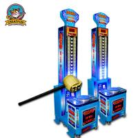 Hammer Coin Operated Game Machine Simulated Boxing Combine Sport And Entertainment