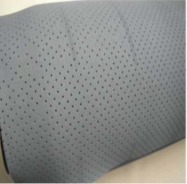 White Neoprene Rubber Sheet , Breathable Oil Resistant Rubber