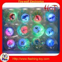 China Flashing Toy ,Blinking Bounce Ball Factory on sale