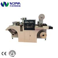 China WJMQ-350 Automatic New Design High Efficiency Flatbed Roll Label Die Cutting Machine on sale