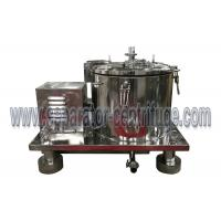 Buy cheap Low cost stainless steel spin hemp oil centrifuge filter from wholesalers