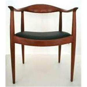 China Wegner wood round chair wholesale