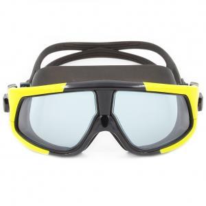 China High Performance Dark Tinted Swim Goggles , Soft Anti Fog Swimming Goggles wholesale