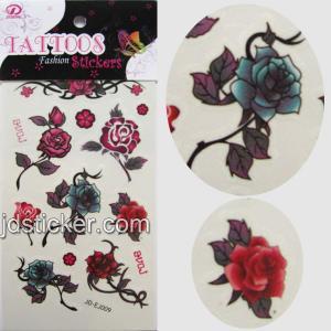 China water transfer tattoo sticker wholesale