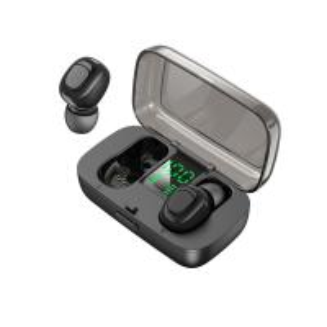 China Macaron Colorful TWS Earphone Mini In-Ear Wireless Bluetooth Headphone HiFi Sound with Digital LED Screen Charging Case wholesale