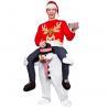 China Lléveme paseo del transporte por ferrocarril de la mascota en los trajes de la mascota del muñeco de nieve de la novedad para la Navidad wholesale