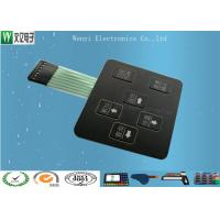3D Square Keys Embossing Membrane Switch With ChangJiang Brand Female 2.54, 4 Pin Connectors