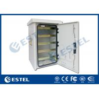 Buy cheap DIN Rail Outdoor Pole Mount Enclosure Three - Point Lock With Fan Cooling from wholesalers
