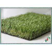 Quality 13000 Dtex Outdoor Artificial Grass / Artificial Turf / Fake Grass Apple Green for sale