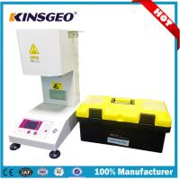 China Manual Automatic Full Load Melt Flow Index Equipment With AC220V 1 Year Warranty wholesale
