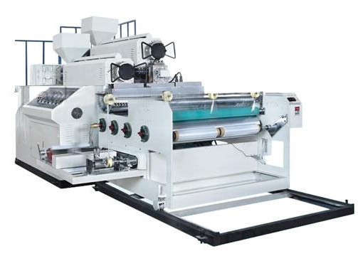 Quality PE Stretch Wrapping Plastic Film Extrusion Machine Two Layers Width 1000mm for sale