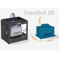 China Creatbot DE Model high precision 3d printer with Large Print Area 400 * 300 * 300mm on sale