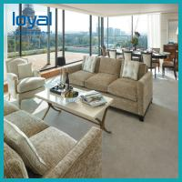 China Fabric Sectional Lobby Seating Furniture Hotel Lobby Furniture With Coffee/Dining Table Sets on sale