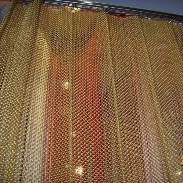 Metallic sheer curtains