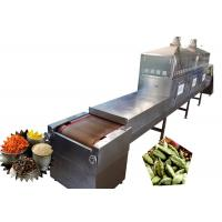 China Tunnel Mangosteen Microwave Sterilization Machine Hot Recycling And Circulatory System wholesale