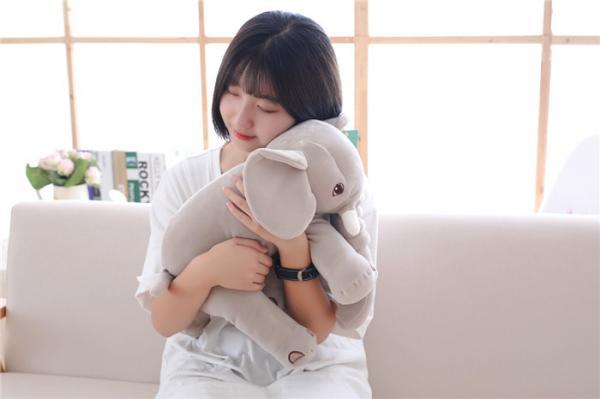 Quality Fashion Animal Plush Toys Size Customized Stuffed Elephant Plush Toy for sale