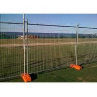 Buy cheap PVC Coated Temporary Mesh Fence /  Galvanized Wire Construction Site Fencing from wholesalers