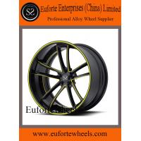 China Black / Red Forged Wheels For Mercedes Benz , Aftermarket Audi Wheels wholesale