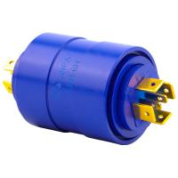China 6 Circuits Slip Ring Brushless Pin Connection with 0-300rpm Operating Speed for Medical Use wholesale