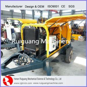 diesel type concrete pump