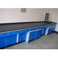 Buy cheap Solid Suspended Laboratory Work Benches 304 SUS Phenolic Resin from wholesalers