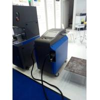 China 1000 W Oxidation Removal Laser Cleaning Machine For Metal , Water Cooling wholesale