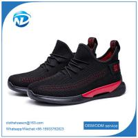 China high quality casual shoes New Product pvc Sole Breathable sport shoes men running on sale
