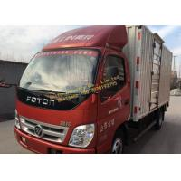 China 2014 Year Used Construction Machinery Diesel Fuel FOTON 6x2 Box Truck wholesale