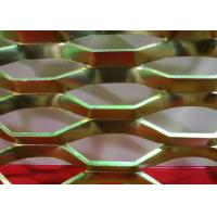 China Diamond Powder Coated Expanded Metal Mesh with 0 . 4 mm - 5 . 0 mm Thickness wholesale