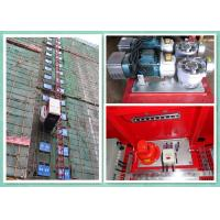China Rack & Pinion Elevator With Twin Cage , Passenger Material Hoist Heavy Capacity Load wholesale