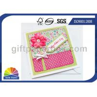 China Professional Mothers' Day Greeting Cards Printing Service / Festival Greeting Cards Printing wholesale