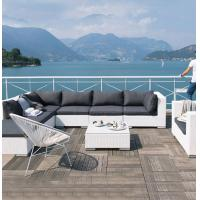 China Factory Price Outdoor Sofa Hot Sale Round PE Rattan and Aluminum Frame Patio Garden Furniture wholesale