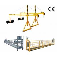China 800 Rated load Personalized Rope Steel Suspended Platform with Dipping Zinc wholesale