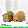 China LUDA kids art storage box natural seagrass straw beach towl basket wholesale