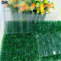 China High Light Transamission Strength Imapct Resistance corrugated clear plastic sheets on sale