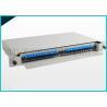 China 24 painéis de remendo azuis carregados APC da fibra ótica do SC dos portos para a solução de OPGW wholesale