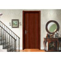 Painting Wooden Flush Door Teak Veneer With Lock Hinge Prehung Sliding Swing Open