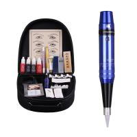China DSH Permanent Makeup Pen Eyebrow Tattoo Machine Kit Infinite Speed Control on sale