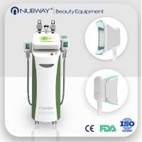 Fat Burning 5 handles Vacuum Cavitation+RF+Cryolipolysis Radio Frequency slimming machine