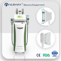 Buy cheap Fat Burning 5 handles Vacuum Cavitation+RF+Cryolipolysis Radio Frequency slimming machine from wholesalers