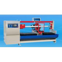 China Double Shafts Paper / BOPP / PVC / Fabric Tape Roll Cutting Machine 1300mm - 1600mm wholesale