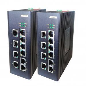 Buy cheap 8E + 2G 繊維のネットワーク スイッチ、8 つの 100M TX の港 + 2 つの 100/1000M TX の港の産業管理対象外のスイッチ from wholesalers