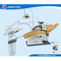 China Comfortable Dental Chair Unit with Seamless PU seat , dental clinic equipment wholesale