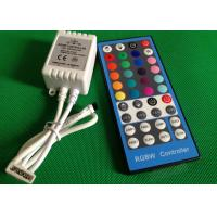 China 44 Key Wireless Remote RGBW LED Light Controllers For LED Strip CE ROHS wholesale